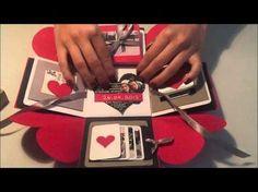 Sevgililer Günü İçin -Patlayan Kutu XL Boy -Exploding Box - YouTube