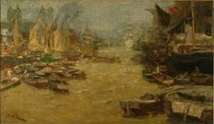 Jan Toorop - De Theems bij Londen