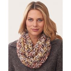 V-Stitch Infinity Scarf in Bernat Blissful - Downloadable PDF. Discover more patterns by Bernat at LoveKnitting. We stock patterns, yarn, needles and books from all of your favourite brands.