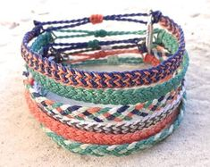 Woven & Braided Bracelets   Etsy Mens Bracelet Fashion, Braided Bracelets, Cord, Wax, Braids, Etsy Seller, Trending Outfits, Unique Jewelry, Handmade Gifts