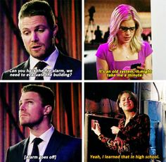 #Arrow - Oliver, Felicity & Thea #Season4 #4x14