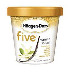 Haagen-Dazs Five Vanilla Bean
