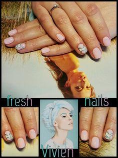 #Fresh #nails #Vivien #spring #wedding #nailtutorial #happyhands #laimingosrankos #didierlab #no2 #no3 #53