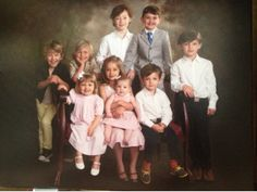 The hanson grand kids now Taylor, zac and isaac's  kids