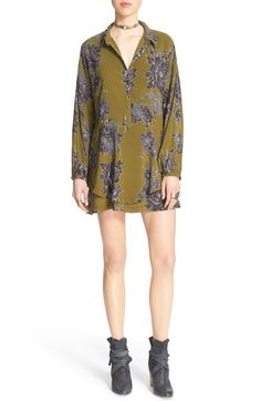 Free People 'Shake It' Printed Tunic available at #Nordstrom