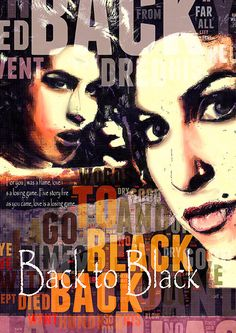 Print Amy Winehouse Poster print by Artistico, $30.00 Back to Black lyrics #music #musik #lyrics