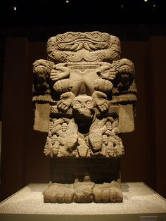 Coatlicue Aztec Mexico