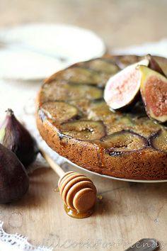 24 Fig Recipes Orange and Cardamom Spiced, Honeyed Fig, Olive Oil Tea Cake Fig Recipes, Sweet Recipes, Baking Recipes, Cake Recipes, Dessert Recipes, Fruit Dessert, Dessert Bread, Bread Recipes, Holiday Recipes