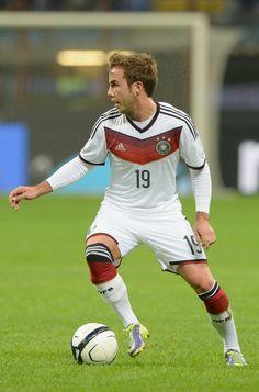 Mario Götze -  attacking midfielder for Bayern Munich in the German Bundesliga and the German national team.Also played as an attacking midfielder for Borussia Dortmund.