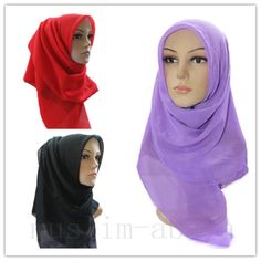 New Style Maxi Scarf Hijab Shawl Soft Delicate Fabric With Large Plain Colour http://www.ebay.com/itm/251379733908?ssPageName=STRK:MESELX:IT&_trksid=p3984.m1555.l2649#ht_1857wt_1222