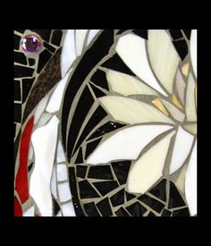 2 panel window mosaic | mosaic panel with frame : $299; (return)