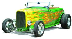 Flame Paint Job on Ford T