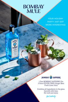 Have BOMBAY SAPPHIRE® Gin delivered to your door in under an hour! Drizly partners with liquor stores near you to provide fast and easy Alcohol delivery. New Year's Drinks, Liquor Drinks, Fancy Drinks, Cocktail Drinks, Yummy Drinks, Alcoholic Drinks, Beverages, Sapphire Gin, Bombay Sapphire