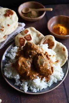 The Best Indian Butter Chicken - Casserole Recipes, Crockpot Recipes, Soup Recipes, Dinner Recipes, Homemade Naan Bread, Recipe Sheets, Indian Butter Chicken, Indian Food Recipes, Ethnic Recipes