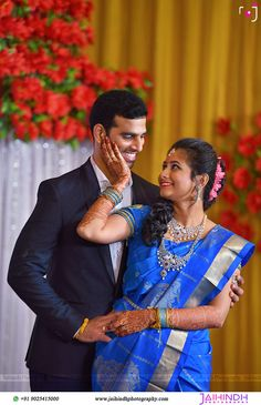 Hindu Wedding Photos, Indian Wedding Poses, Indian Engagement, Indian Wedding Couple Photography, Tamil Wedding, Photography Couples, Engagement Ring, Madurai, Photo Poses For Couples