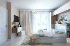 Двухкомнатная квартира с кухней-нишей, Россия, МО. фото, Москва | Магазин дизайна №8