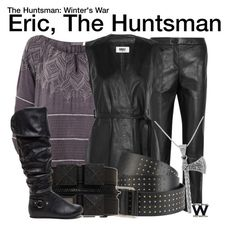 """""""The Huntsman: Winter's War"""" by wearwhatyouwatch ❤ liked on Polyvore featuring Topshop Unique, Mint Velvet, MM6 Maison Margiela, Karl Lagerfeld, Carolina Glamour Collection, wearwhatyouwatch and film"""