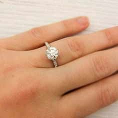1.55 Carat Tiffany & Co. Antique Engagement Ring $20000