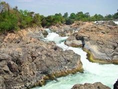 Laos - khon pha peng waterfalls, champasak, southern laos