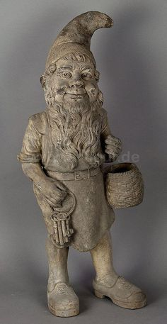 I'd love to have this old gnome in my garden.