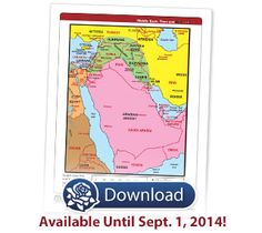 Download Your Free Middle East Then and Now® eChart