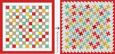 from Pixels to Patchwork: Baby Jane Twister Quilt Quilting Tips, Quilting Projects, Mini Quilts, Baby Quilts, Baby Patterns, Quilt Patterns, Twister Sister, Twister Quilts, Space Fabric