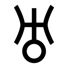URANUS - Planetary Decal Symbol for the planet URANUS  Uranus, God of the sky and the heavens, is the ruler of Aquarius. Uranus is progressive and celebrates originality and individuality. Uranus is associated with advancement, exploration and discovery. God Tattoos, Mini Tattoos, Future Tattoos, Planetary Symbols, Astrological Symbols, Zodiac Art, Astrology Zodiac, Aquarius Planet, Uranus Planet