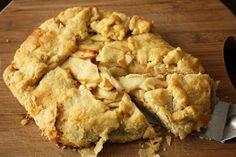 Pioneer Woman's Rustic Apple Pie
