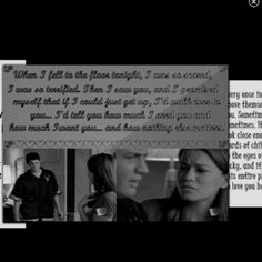 One of my favorite moments. I love the beginning of Naley!