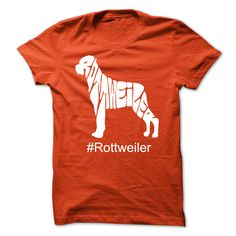 Rottweiler T-Shirts, Hoodies. CHECK PRICE ==► Funny Tee Shirts