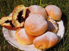 Bułeczki z jagodami | Kuchnia Starowiejskiej Gospodyni