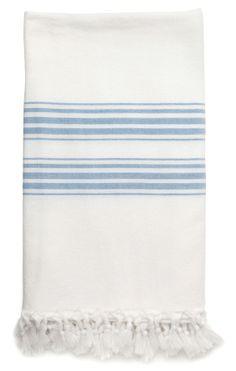 Turkish Towel Blue
