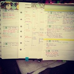 Week 37 - The After Shot #filofax #daytimer #franklin covey #planner