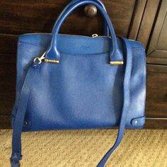 Lk Bennett rosamund bag snorkel blue This is a stunning bag in person. The color is a jewel toned cobalt blue. Incredibly high quality. In lovely condition. LK Bennett Bags Crossbody Bags