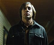 "Javier Bardem as Anton Chigurh in ""No Country For Old Men"""