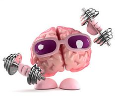 Brain does a work out