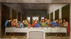 Last Supper Da Vinci 1495