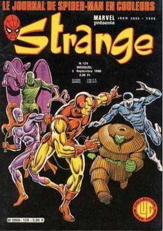 Grande Image de la Couverture Strange N°129