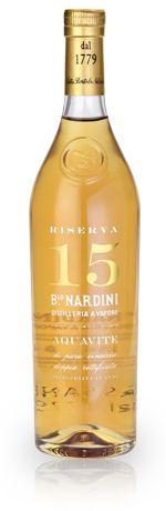 Grappa Nardini 15 years Reserve