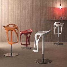 Compar Modern Form Bar Stool in Various Colour Choices