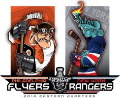 NHL Playoff 2014 Flyers vs. Rangers