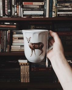 "tolackcolour: "" Tea and books! Yay! """