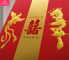 Chinese Wedding Invitations | Chinese Invitations | Double Happiness ...