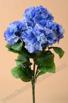 "21"" HYDRANGEA BUSH BLUE - GandGwebStore.com"