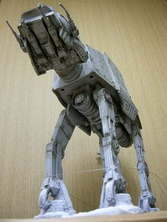 Star Wars Ships, Star Trek, Imperial Walker, Nave Star Wars, Star Wars Painting, At At Walker, Imperial Army, Star Wars Models, Star Wars Merchandise
