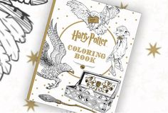This 'Harry Potter' Coloring Book For Grownups Is Every Bit As Magical As Hogwarts — PHOTOS