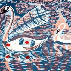 Birds and beasts. Fabulous Beasts, Indigo, Bird Illustration, Textile Prints, Textiles, Printmaking, Illustrators, Screen Printing, Abstract