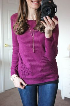 Oh I love love love this color!!  Looks so comfortable and cozy!  This would be a good one to send!!