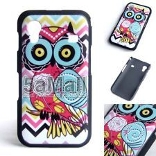 Graffiti Art Cute Owl Back Cover Shell Case for Samsung Galaxy Ace S5830 BA2015