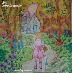 #romanticcountry #eriy #coloringbooksforadults #adultcoloring #coloringmaster #coloringpencils #coloring #pencils #pencil #art #colors #colorfull #colorful #colorista #prismacolor #sharpie #coloringbook